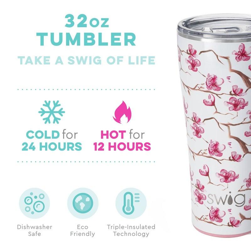 Swig Cherry Blossom 32oz Tumbler