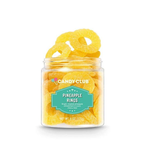 Pineapple Rings - Candy Club Candy Bites *Final Sale*