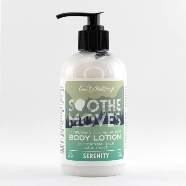 Serenity Soothe Moves Body Lotion By Country Bathhouse *Final Sale*