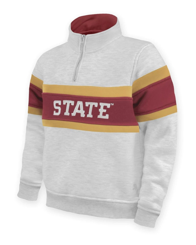 Retro Iowa State Pullover For Kids