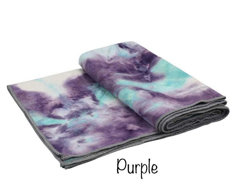 Tie Dye Non Slip Yoga Towel *Final Sale*