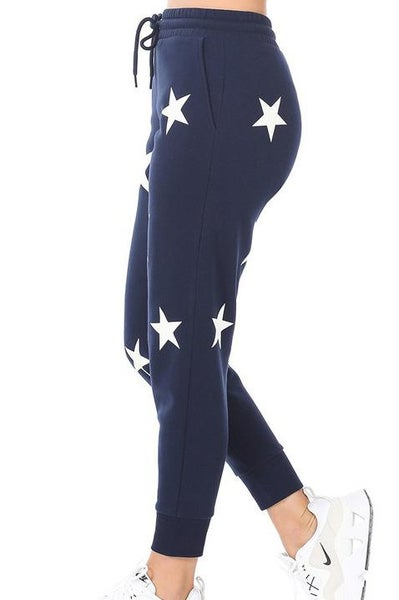 Star Joggers For Women