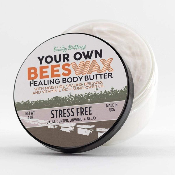 Stress Free Body Butter By Country Bathhouse *Final Sale*