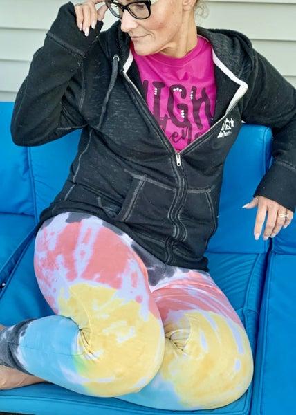 Bright & Fun Tie Dye Joggers For Women