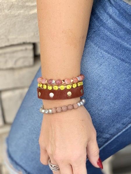 Lava Love Bracelet Stack For Women