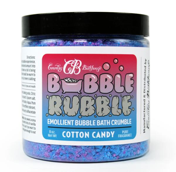Cotton Candy Bubble Rubble Bath Crumble For All Ages *Final Sale*