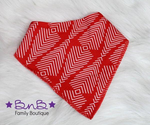 Red Arrow Bandana Bib