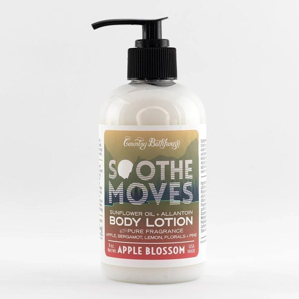 Apple Blossom Soothe Moves Body Lotion By Country Bathhouse *Final Sale*