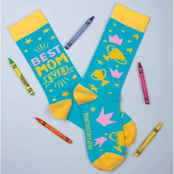 Best Mom Ever Socks - Adult *Final Sale*