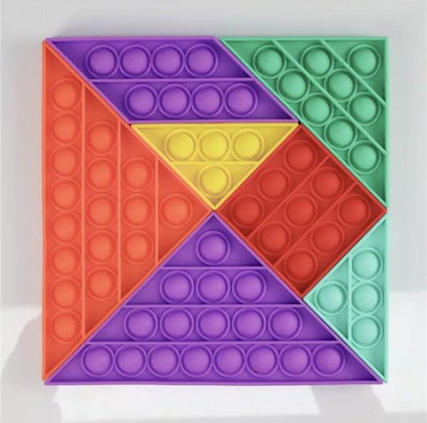 Fidget Puzzle Popper Toy *Final Sale*