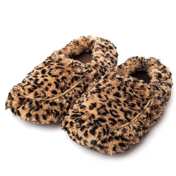 Animal Print Warmies Slippers For Adults *Final Sale*