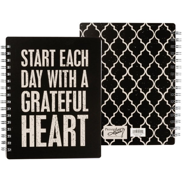 Start Each Day With A Grateful Heart Spiral Notebook *Final Sale*