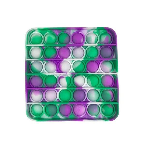 Green & Purple Square Fidget Popper *Final Sale*