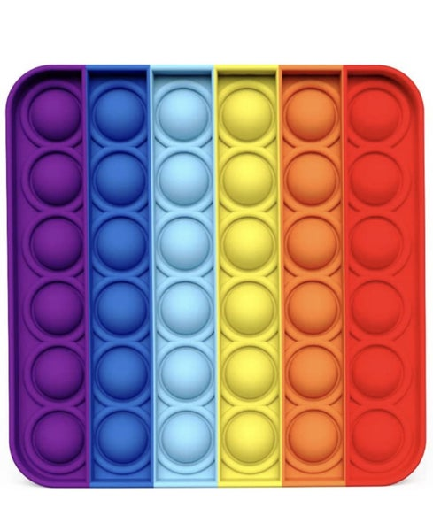 Square Rainbow Fidget Popper *Final Sale*