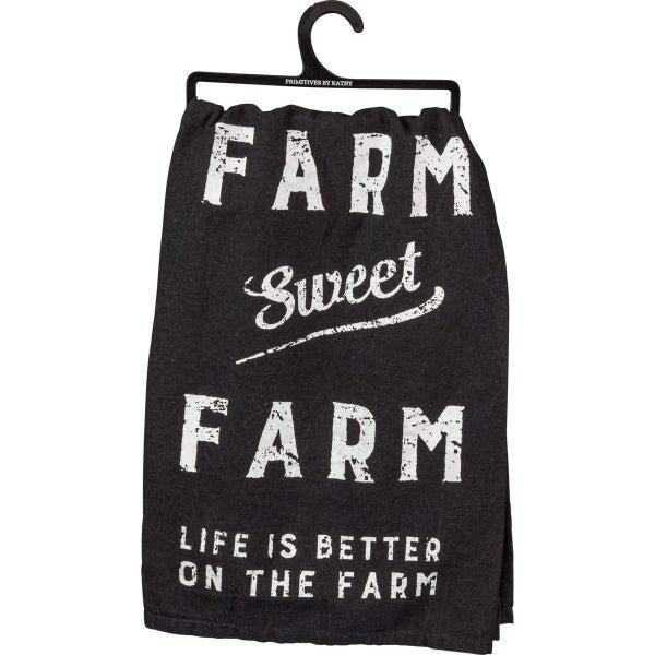 Farm Sweet Farm Dish Towel *Final Sale*