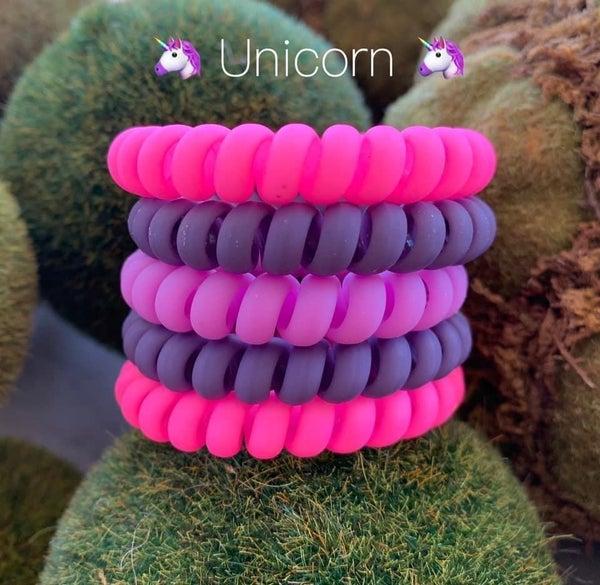 Unicorn Fun Hair Tie Coils *Final Sale*
