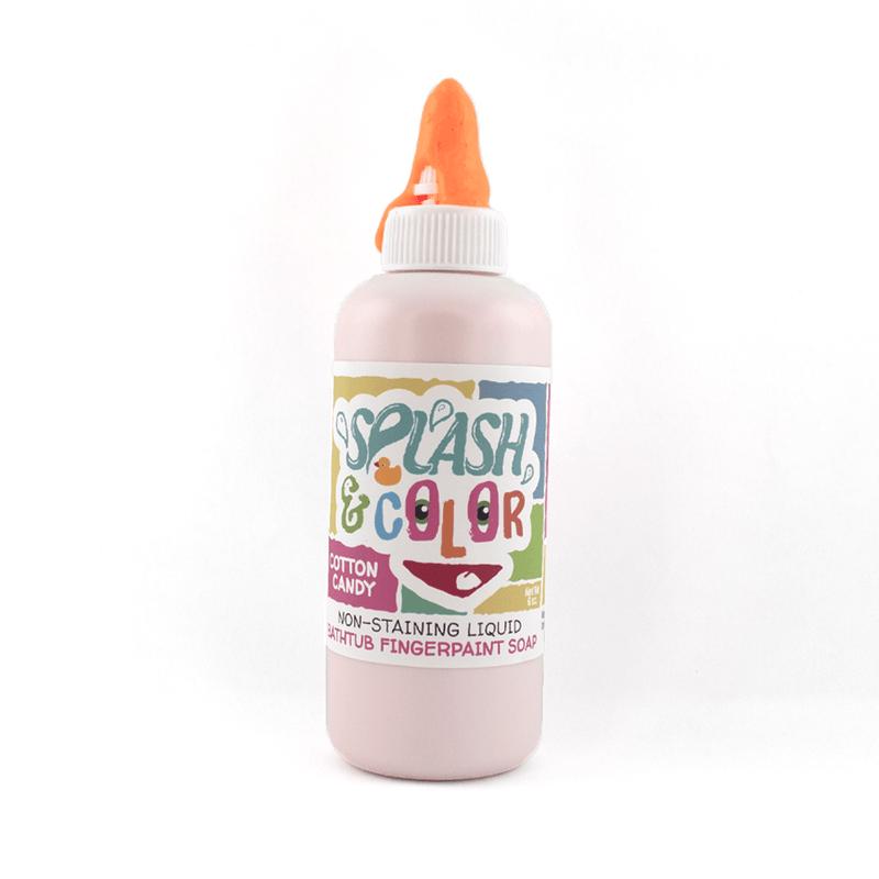 Cotton Candy Splash & Color Bathtub Finger Paint *Final Sale*