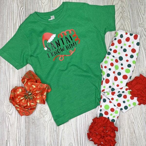 Santa! I Know Him! For Kids