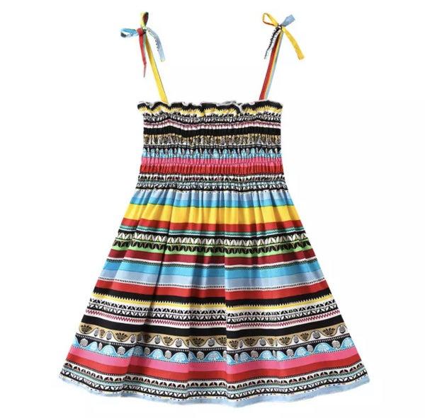 Bright Summer Fun Sun Dress For Girls *Final Sale*