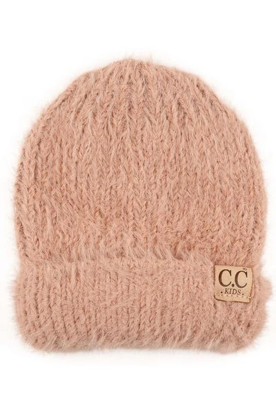 C.C. Rose Fuzzy Beanie For Baby