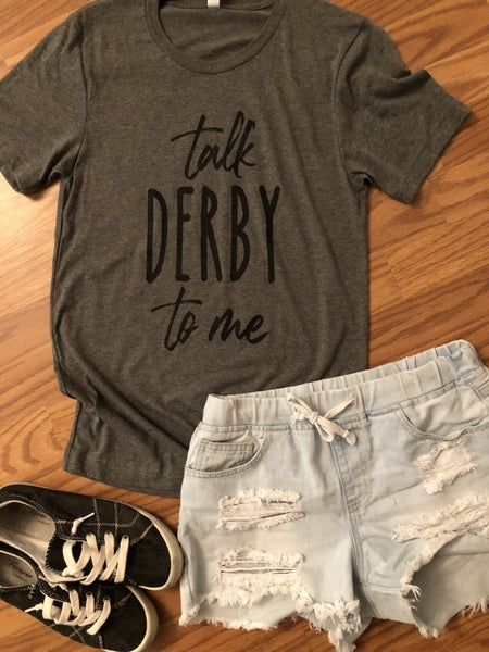 Talk DERBY to me graphic tee