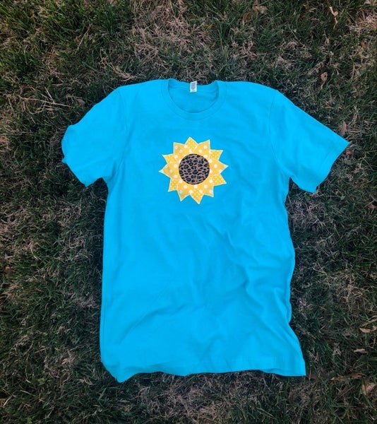 Bright as a sunflower tee
