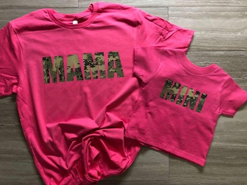 Mama Digital Camo Tee *Final Sale*