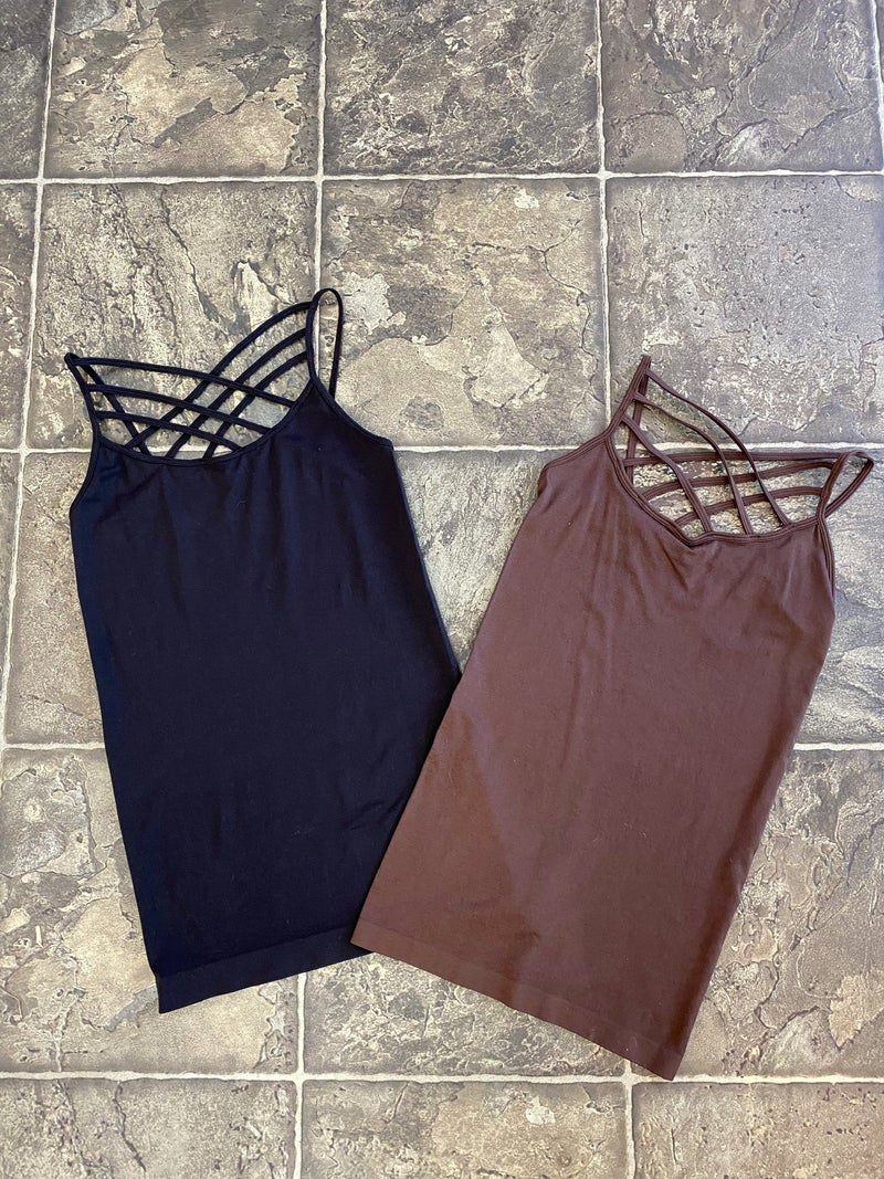 Fitted layering cami