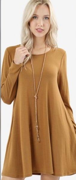 Long Sleeve T-shirt  dresses
