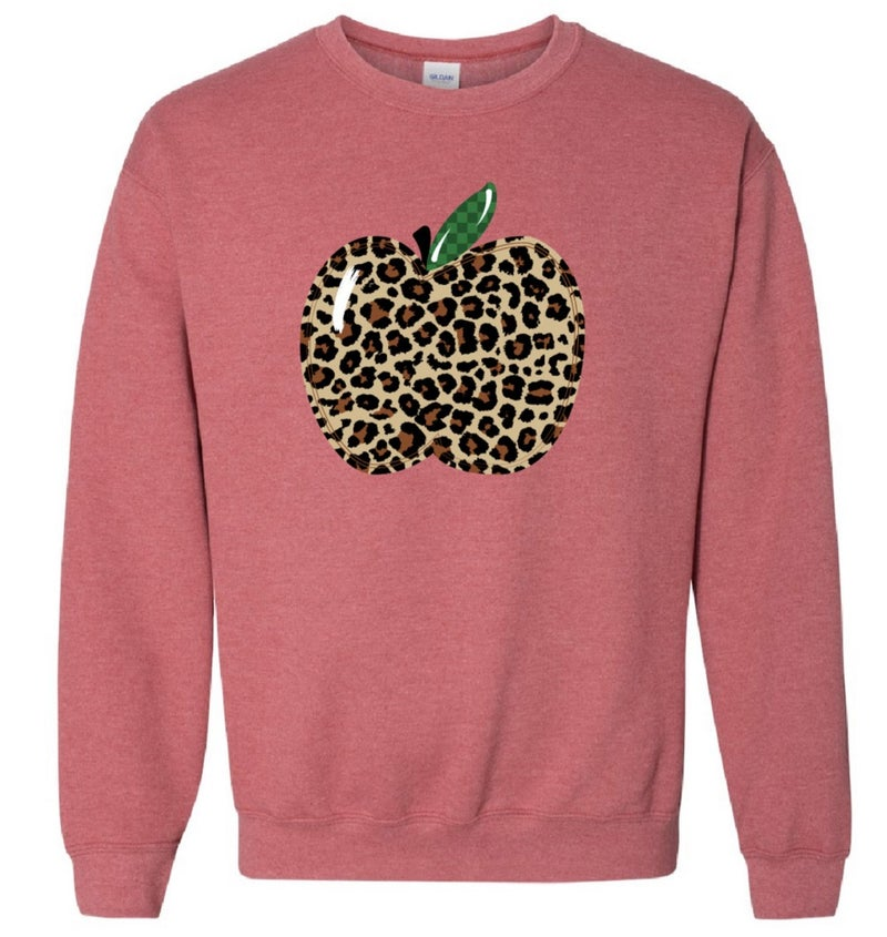 Teacher Apple sweatshirt