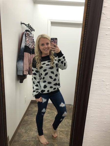 Dalmatian sweater