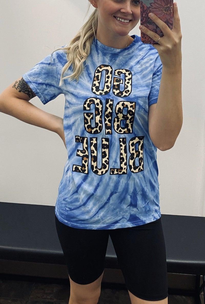GO BIG BLUE TEE