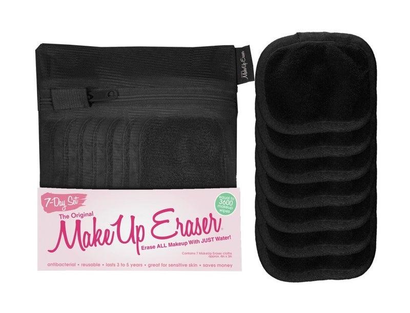 Make up eraser 7 day set black