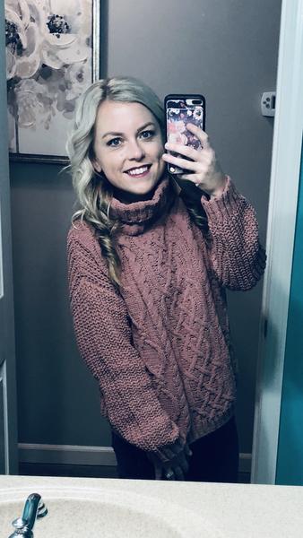 Turtleneck cozy sweater