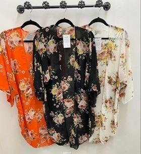 Lightweight Floral Kimono