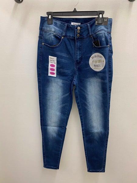 Perfect hi rise skinny jeans
