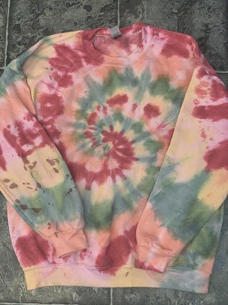 Custom Tie-Dye Sweatshirt