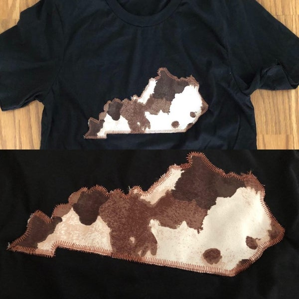 Brown Cow State Tee