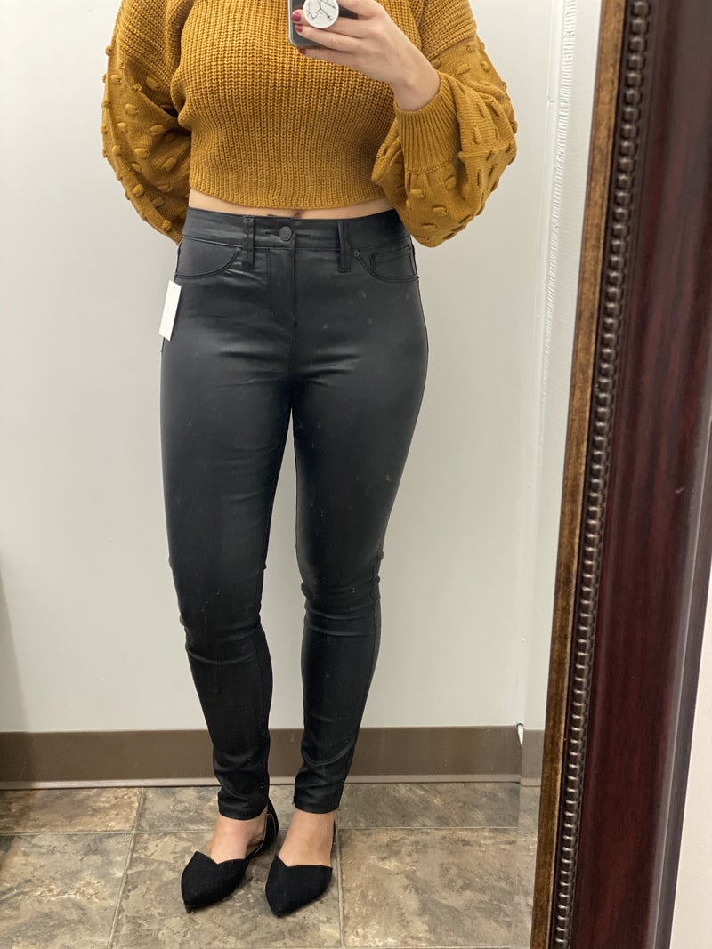 YMI Faux leather jeggings