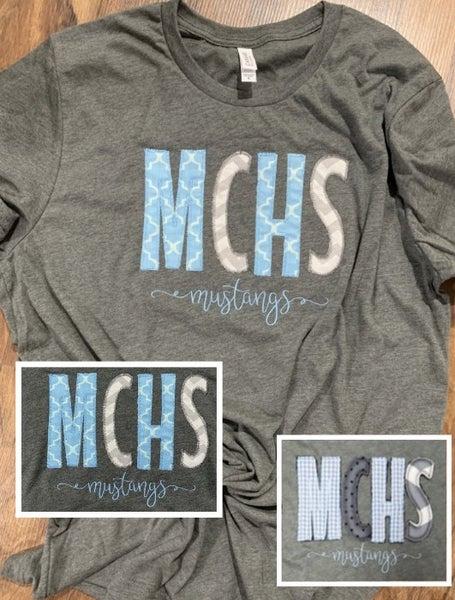 MCHS Mustangs tee