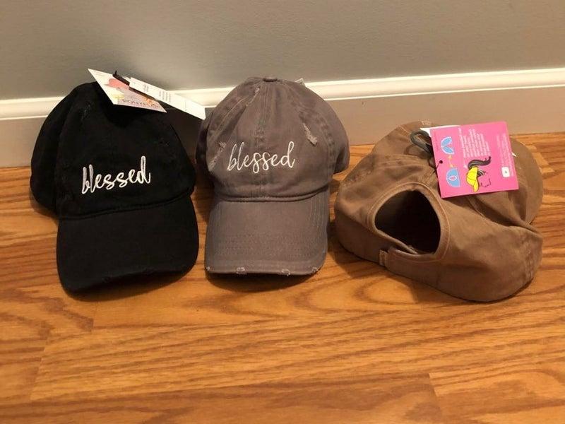 Blessed Ponytail Hat