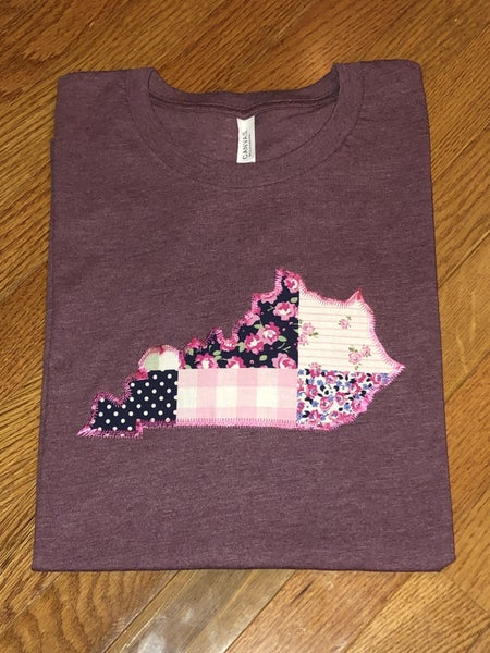 """Pink Rose """"Patches"""" State"""