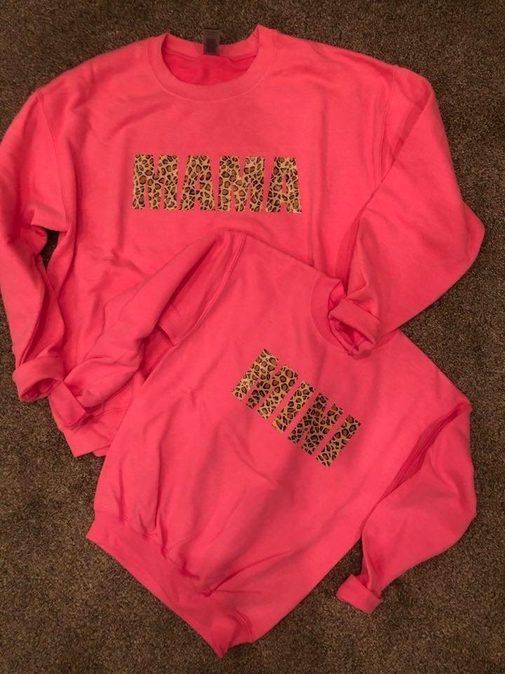 Mama Leopard Sweatshirt