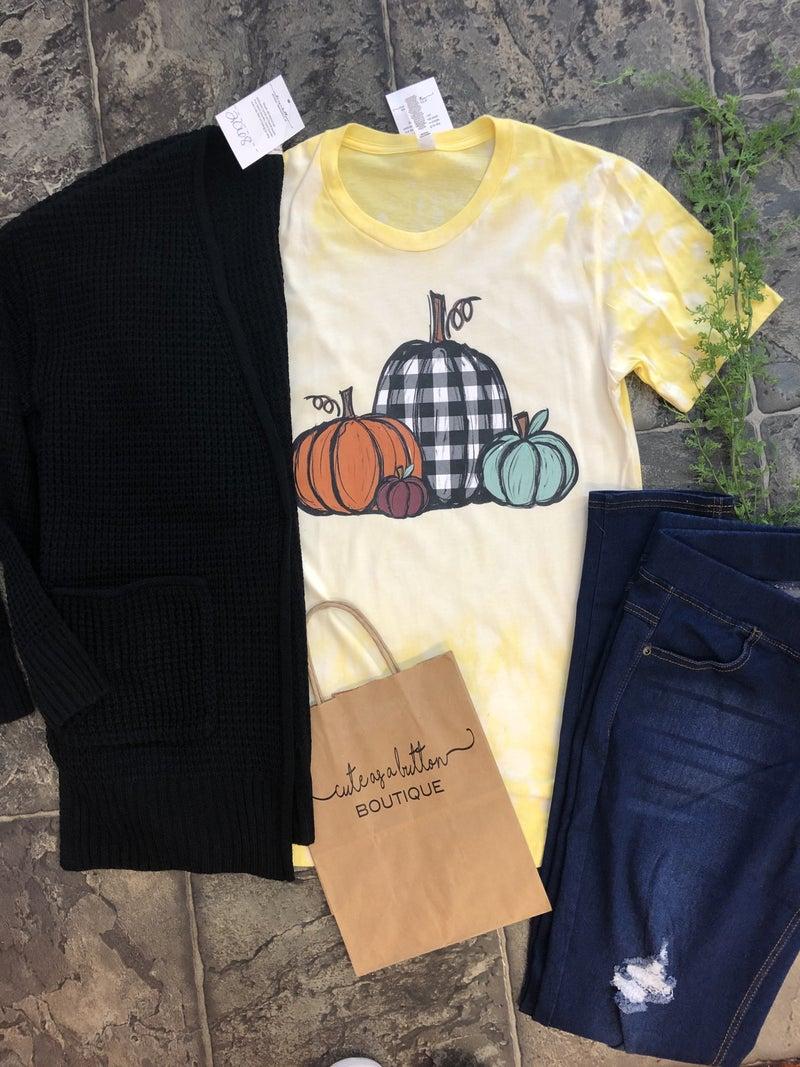 Pumpkin graphic  yellow