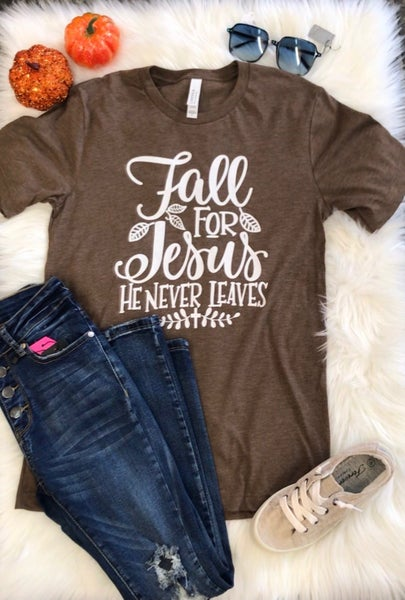 Fall for Jesus Tee