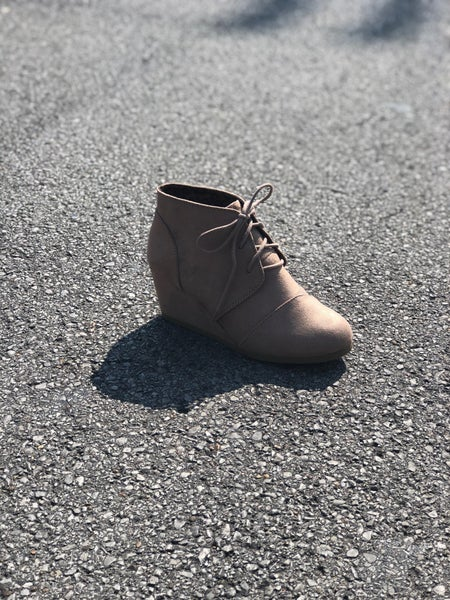 Taupe Booties