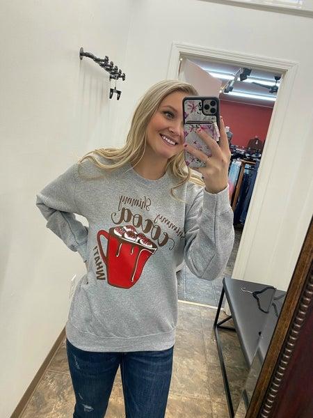 Shimmy shimmy cocoa sweatshirt