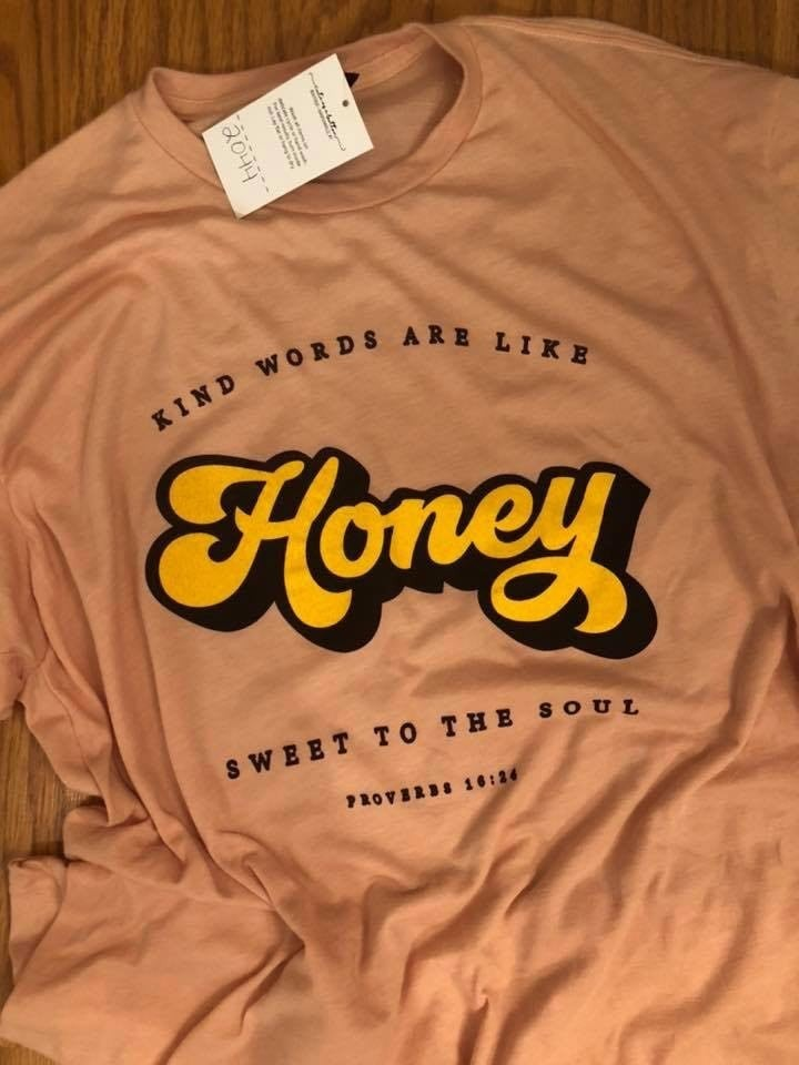 Peach Honey Tee