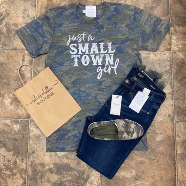 Just a Small Town Girl Camo