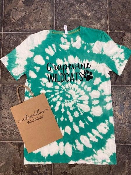 Grapevine Wildcats tie dye style!!